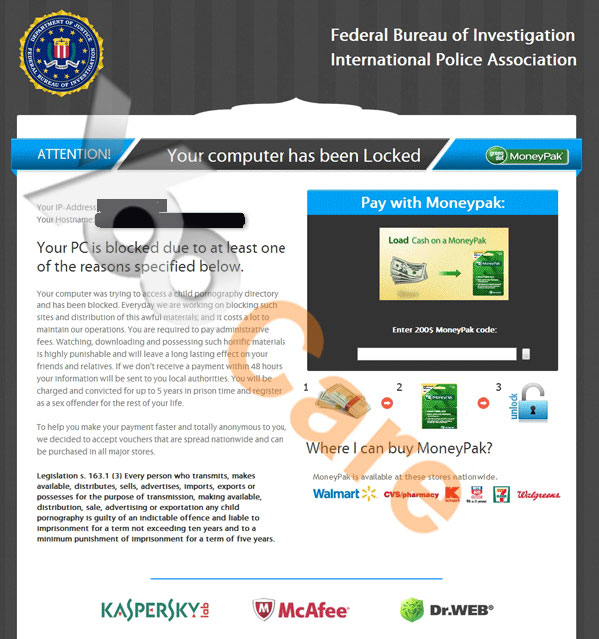 Fbi Virus Scam Locked Screen Remove Fbi Moneypak Virus From Pc Mac Or Mobile Yoosecurity Removal Guides
