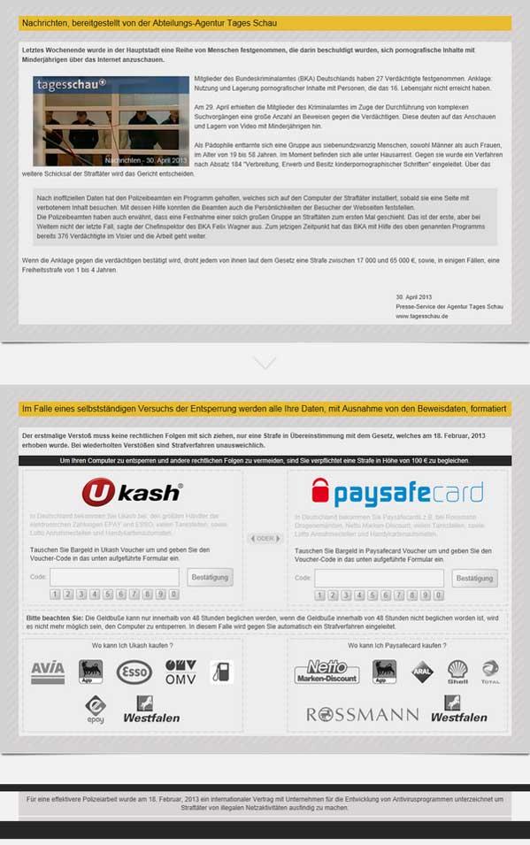 Germany Scam Bundeskriminalamt Ihr-Internet-Service-Provider-ist-blockiert-A