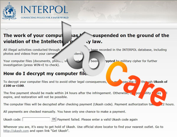 Interpol-Virus