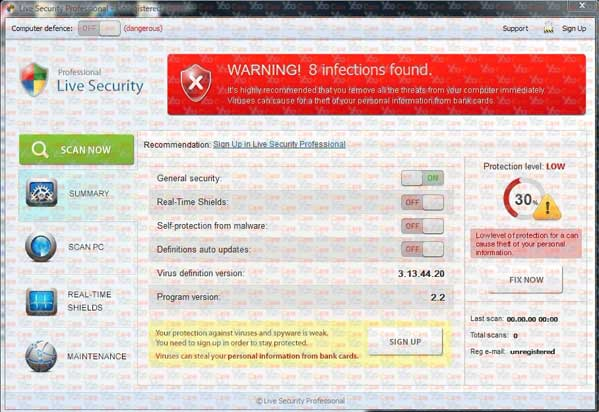Live-Security-Professional-unregistered version A