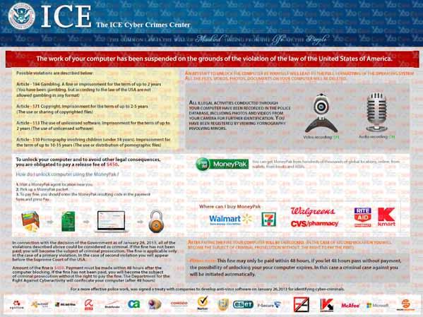 ICE Virus $450