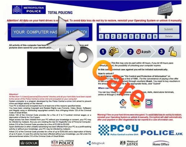 ukash metropolitan police