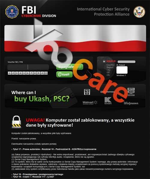 Portugal FBI CyberCrime Division ICSPA Virus Scam