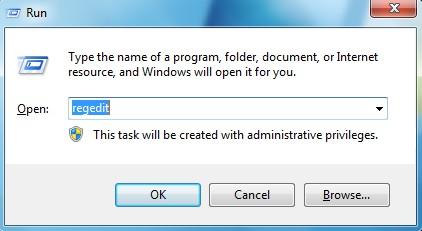 Run+Registry Editor