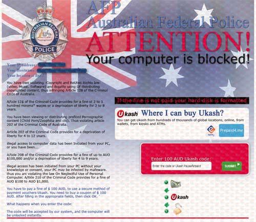 AFP Ukash Virus-2012.11