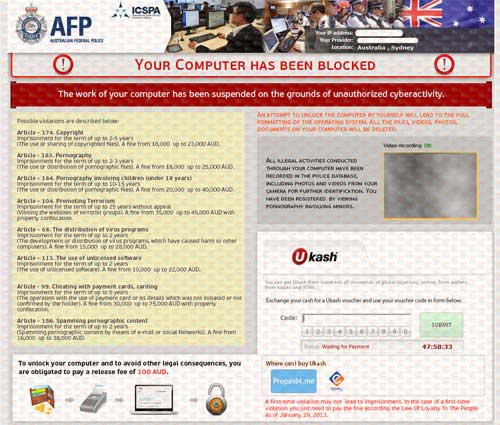 AFP Ukash Virus-2013.02