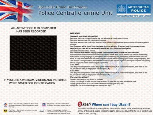 PCeU Virus Ukash Scam-2012.09