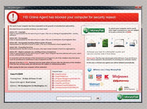 FBI-Online-Agent-Virus