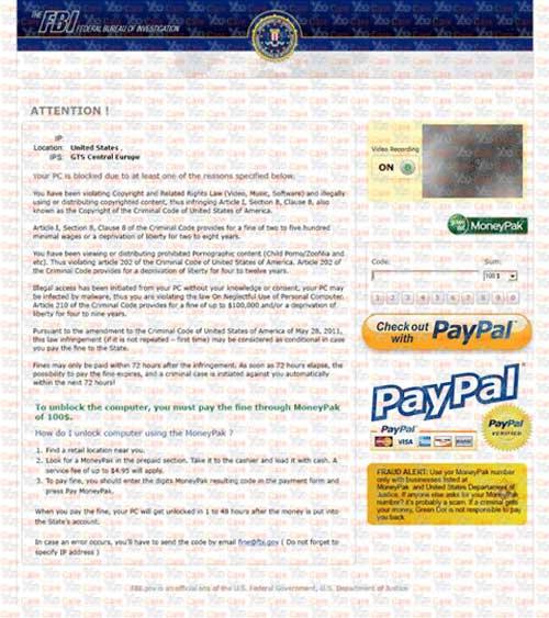 FBI-PayPal-Virus