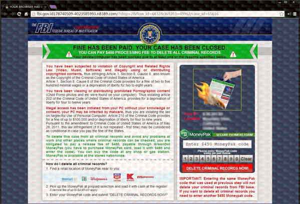 Computer Virus: Fbi Warning Computer Virus