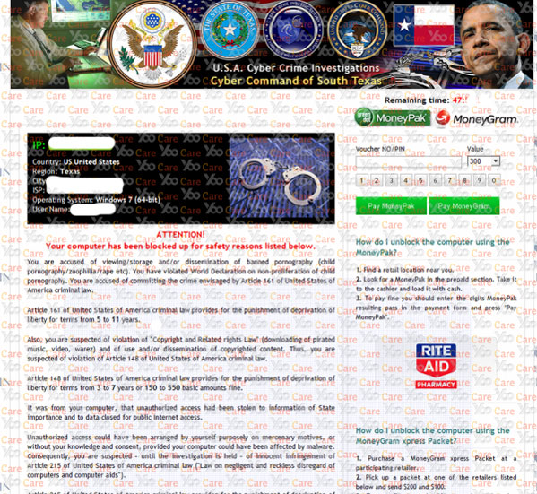 U.S.A.-Cyber-Crime-Investigations-Virus---Cyber-Command-of-South-Texas