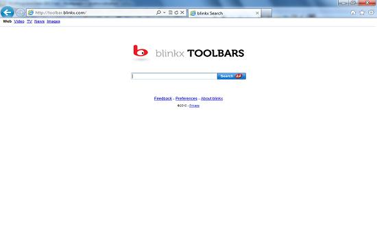 Blinkx Video Toolbar intrusion method
