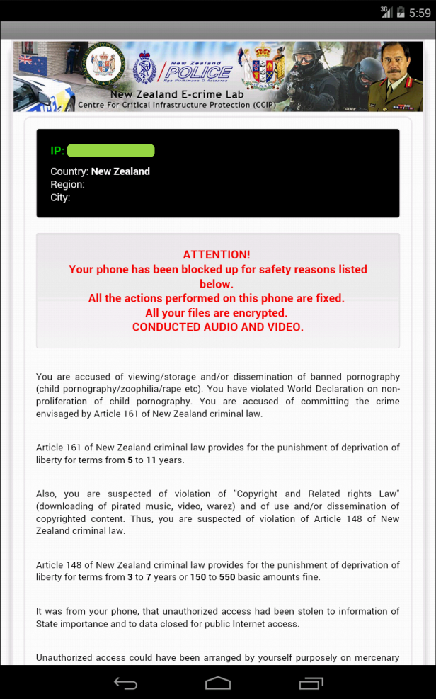 Remove Icspa Virus On Android Phone Or Tablet In 2016