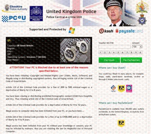 PCeU-Virus-Ukash-Scam-fake police warning