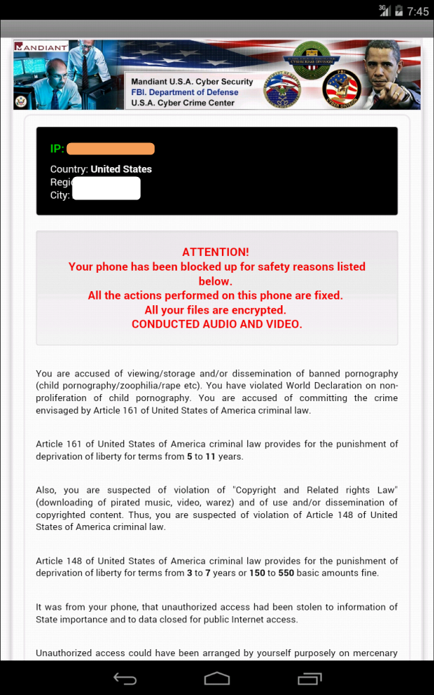 Get Rid Of The Saudi Cyber Crime Scam From Android Phone