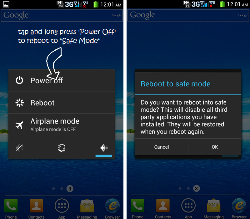 How To Unlock Android Device On The Prism Crime