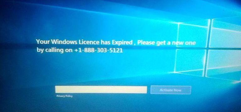 Your Windows Licence Has Expired