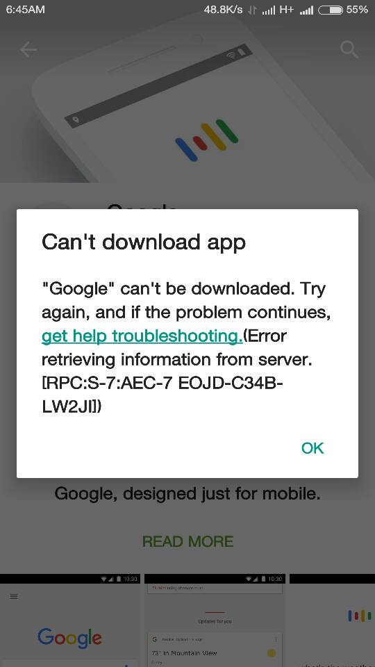 Why can't i download the google+ app on my iphone 5s? Iphone.