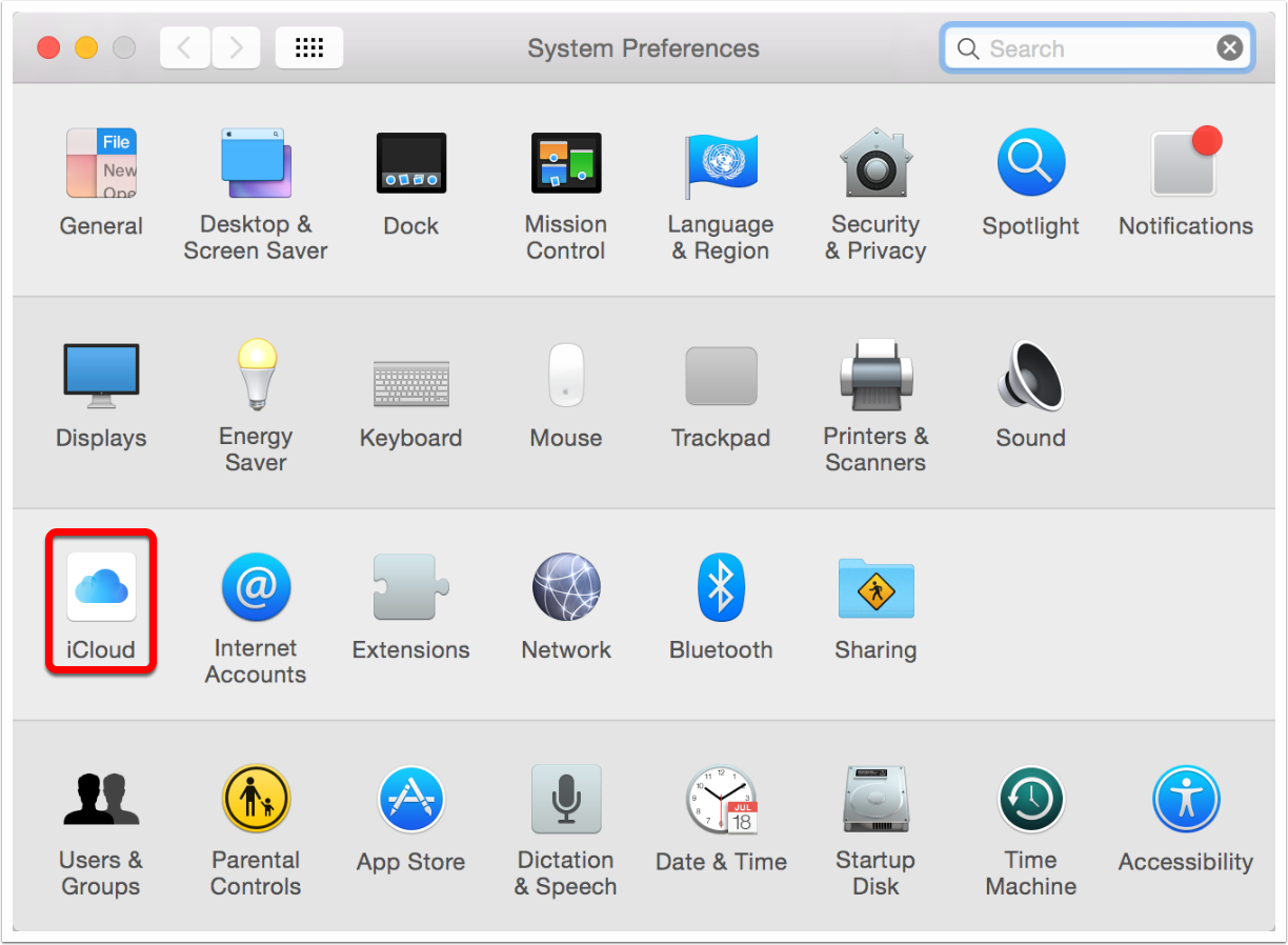 open-system-preferences-and-click-on-icloud
