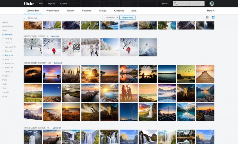 Как смотреть на flickr