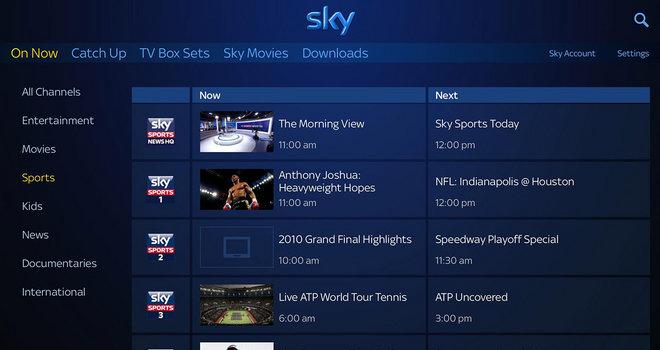 Sky Go Sport