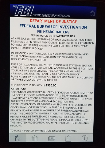 "How to Remove ""FBI Federal Bureau of Investigation"" Virus from LG"