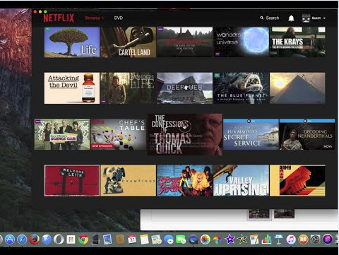 how to download shows on netflix on mac