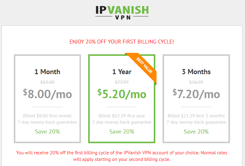 Ipvanish coupon code 57 off a year deal 2018 yoosecurity also ipvanish provides 20 off coupon code for new customer if you are a new customer please apply for the 20 off ipvanish coupon code before you fill in fandeluxe Gallery