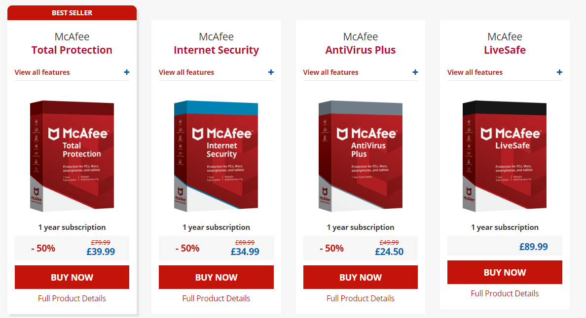 coupons for mcafee antivirus