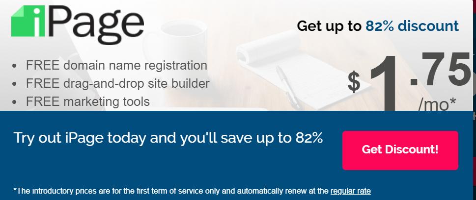 iPage Renewal Discount Coupon: 100% Guaranteed Deal 2019