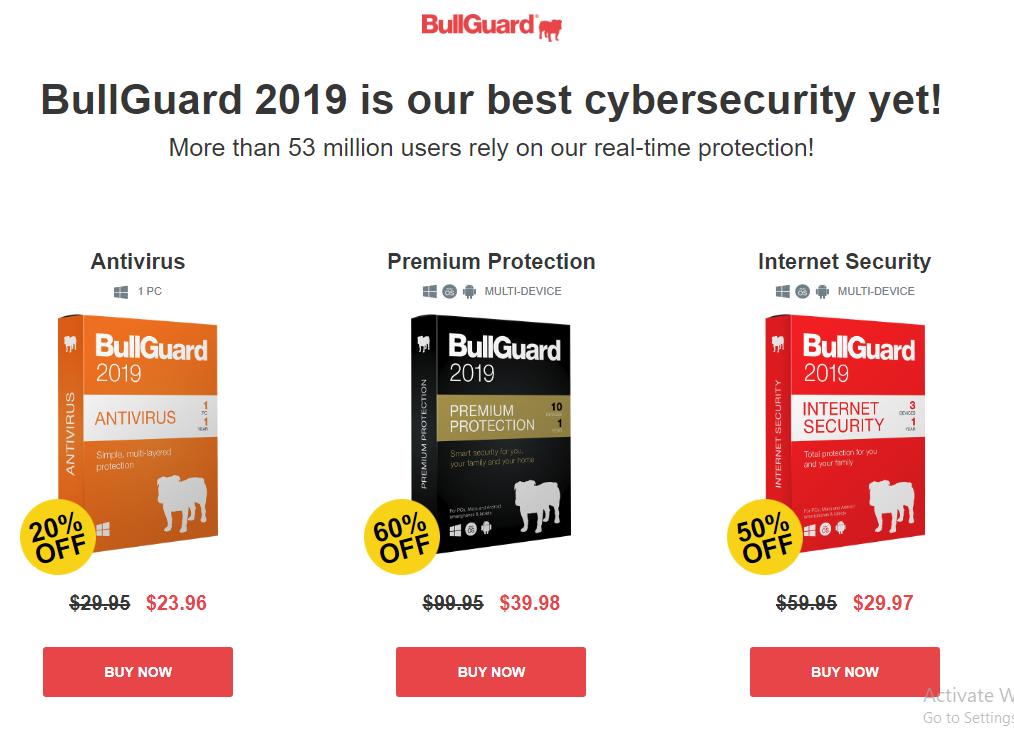 bullguard premium protection serial key 2019