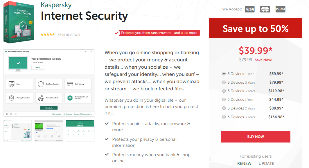kaspersky total security android review