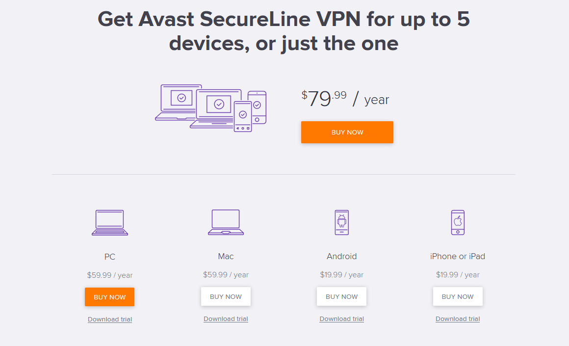 is avast secureline vpn good