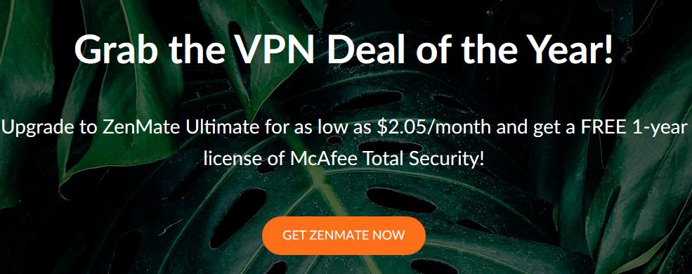 ZenMate Coupon Code 2019: Get 100% Valid Discount - YooSecurity