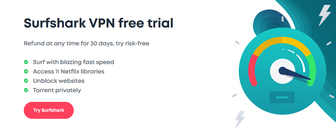 Surfshark Free Trial: Try It Risk-Free for 30 Days in 2019